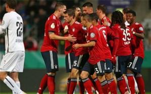 جام حذفی آلمان؛ بایرن مونیخ با زحمت فرار کرد