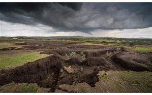 16 تن میانگین سالیانه فرسایش خاک در ایران