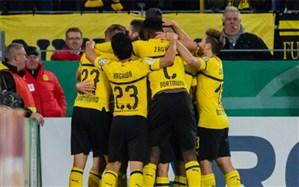 جام حذفی آلمان؛ صعود ناپولئونی  دورتموندبه یک چهارم نهایی
