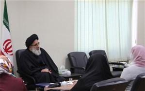 تشرف بانوی مسیحی به دین اسلام در حضور امامجمعه کرج