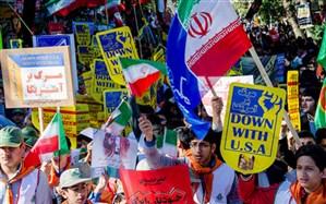 مسیرهای راهپیمایی روز ۱۳ آبان در مازندران