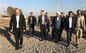 بازدید مدیر کل راه آهن استان تهران از پروژه های عمرانی قرچک