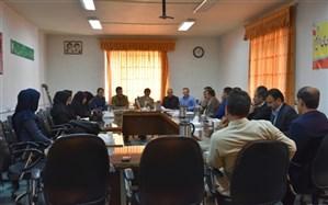 جلسه مدیران مدارس  اول متوسطه شهرستان دیواندره برگزار شد