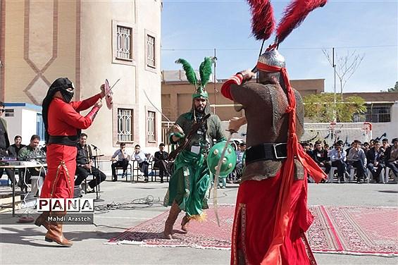 مراسم عزاداری و تعزیه خوانی در هنرستان البرز خراسان جنوبی