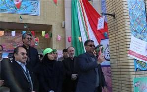 """زنگ """"استکبار ستیزی"""" در مدارس خراسان رضوی به صدا در آمد"""