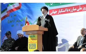 اگر ملت ایران هرگز تسلیم دشمن نمیشوند اینها همه درس از امام حسین (ع) است