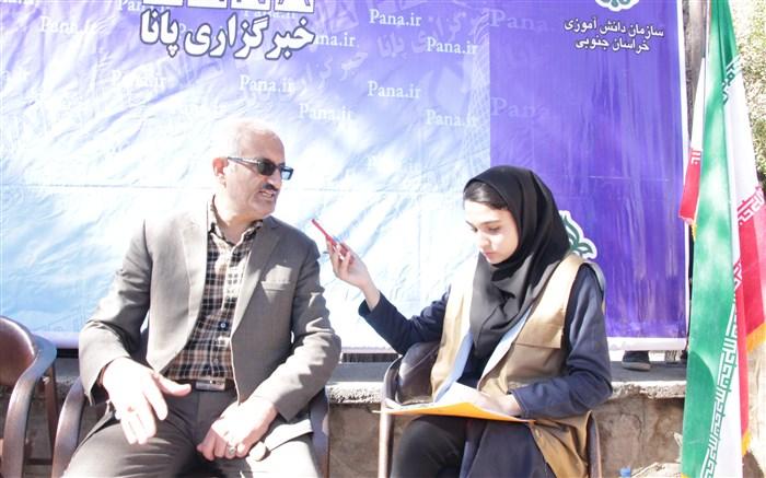 معاون پرورشی فرهنگی اداره آموزش و پرورش شهرستان بیرجند