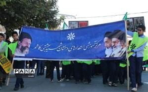 راهپیمایی ضد استکباری یوم الله ۱۳ آبان در کاشمر
