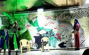 اجرای مراسم تعزیه خوانی در فشافویه