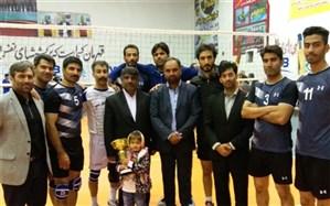 پایان مسابقات والیبال کارکنان دولت با قهرمانی تیم آموزش و پرورش