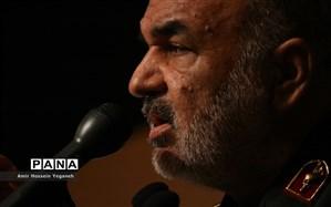 سردار سلامی: دشمنان در برابر قدرت ایران مجبورند هر حادثهای را به دروغ هم که شده، به ما نسبت دهند