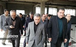 معاون وزیر بهداشت از پروژههای در حال احداث دانشگاه علوم پزشکی مازندران بازدید کرد