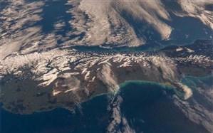 نیوزیلند از منظر فضا + تصاویر