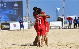 جام قهرمانان فوتبال ساحلی جهان؛ صعود ایران به نیمهنهایی قطعی شد