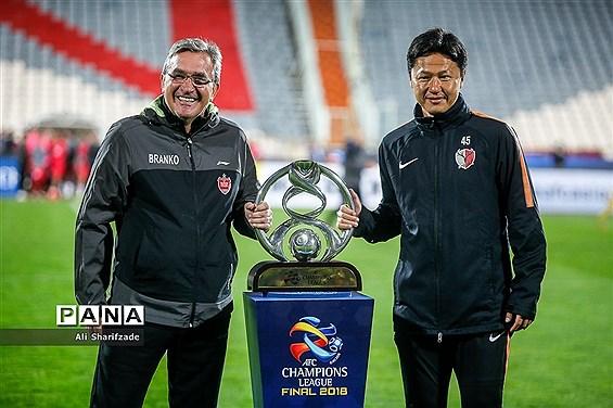 نشست خبری  تیمهای پرسپولیس و کاشیما آنتلرز پیش از بازی فینال جام باشگاههای آسیا