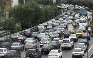 ترافیک سنگین در ورودیهای تهران