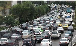 اعلام آخرین وضع ترافیکی معابر بزرگراهی شهر تهران