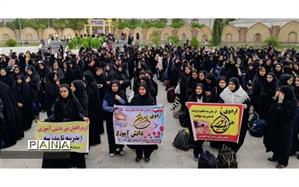 400 دانش آموز دختر گچسارانی به مناطق عملیاتی جنوب اعزام شدند