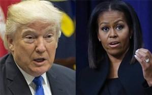 دعوای میشل اوباما و ترامپ بر سر چه بود؟