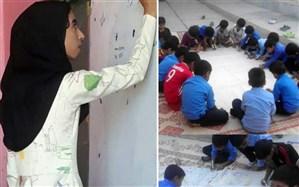 معلم هرمزگانی که با نقاشی گروهی بچهها مانتو دوخت: همه معلمها خلاقاند، کار من فقط دیده شد