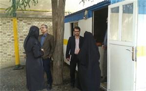 بازدید رئیس سازمان دانش آموزی استان همدان از پایگاه تغذیه سالم و بوفه مدارس