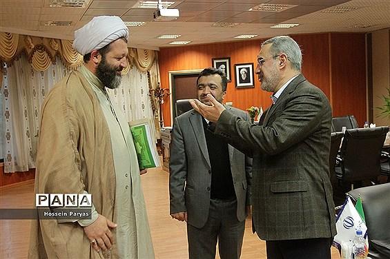 دیدار وزیر آموزش و پرورش با جمعی از نمایندگان مجلس