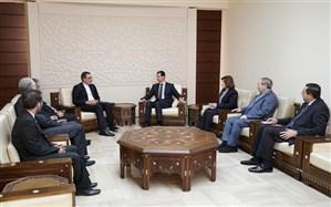 دیدار جابری انصاری با اسد؛ تهران و دمشق آخرین تحولات سوریه را بررسی کردند