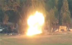لحظه انهدام اتوبوس حامل نظامیان رژیم صهیونیستی با موشک مقاومت + ویدئو