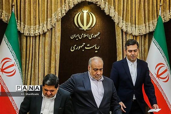 نشست گزارش روند اقدامات دولت در بازسازی مناطق زلزله زده کرمانشاه