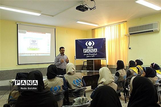 برگزاری کارگاه آموزشی پانا در مدارس متوسطه ناحیه ۳ اهواز