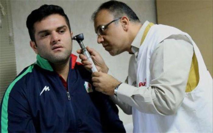 دفاع سرمربی تیم ملی وزنهبرداری  پس از پاره شدن پرده گوش ملیپوش ایرانی
