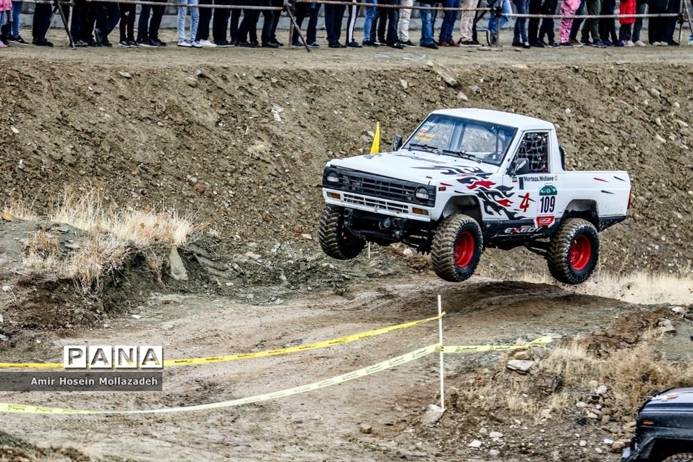 راند سوم مسابقات آفرود قهرمانی کشور در ارومیه