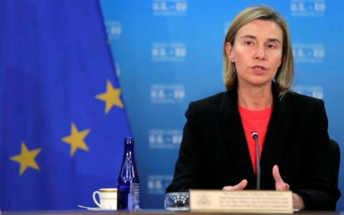 موگرینی: از موضع عراق مقابل تحریمهای ضد ایرانی حمایت می کنیم