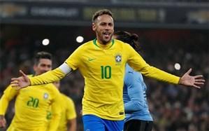 دیدار دوستانه ملی؛ برزیل با پنالتی نیمار روی نوار برد ماند