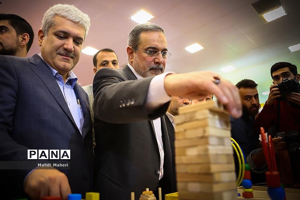 افتتاح چهارمین جشنواره ملی اسباب بازی