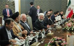 شوخی دیپلماتیک روسای جمهوری ایران و عراق