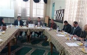 برگزاری جلسه هم اندیشی مدیران دوره دوم متوسطه در شهرری