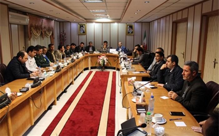 جلسه هماهنگی بیستمین مانور زلزله و ایمنی دراستان اردبیل