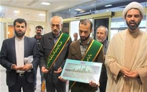 دیدار خادمان مسجد جمکران از بیماران بیمارستان  شهدای خلیج فارس بوشهر