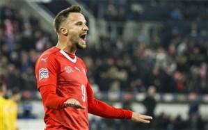 لیگ ملتهای اروپا؛ طلسم شکنی 35 ساله سوئیس را به نیمه نهایی فرستاد