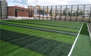 پروژه مجموعه ورزشی ناحیه مینودر قزوین به پایان رسید