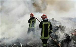 تجمیع ضایعات و زباله موجب آتشسوزی میشود