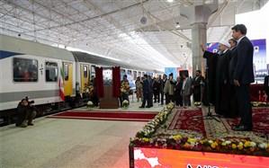 بهرهبرداری از راهآهن ارومیه با حضور رئیسجمهور