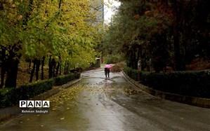 بارش باران ۱۱ استان کشور را دربر میگیرد