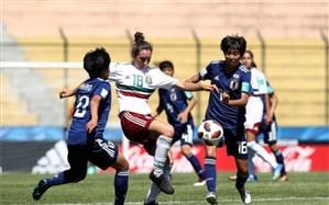 جام جهانی دختران نوجوان؛ ساموراییها با یک امتیاز جشن صعود گرفتند