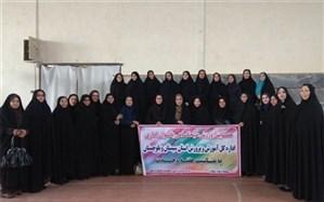 همایش ورزش صبحگاهی بانوان اداری آموزش و پرورش سیستان و بلوچستان برگزار شد