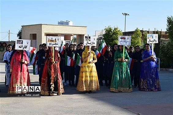 افتتاحیه المپیاد ورزشی درون مدرسهای در گلهدار