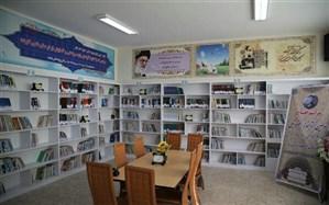 اولین کتابخانه الکترونیکی آموزشگاهی در هنرستان عترت میانه افتتاح شد