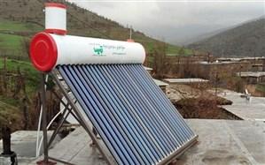 آبگرمکن خورشیدی بین حاشیه نشینان جنگل های اردبیل توزیع می شود