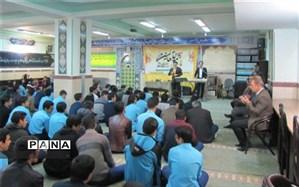 گرامیداشت میلاد با سعادت حضرت محمد (ص) در دبیرستان شهید صدوقی دوره دوم